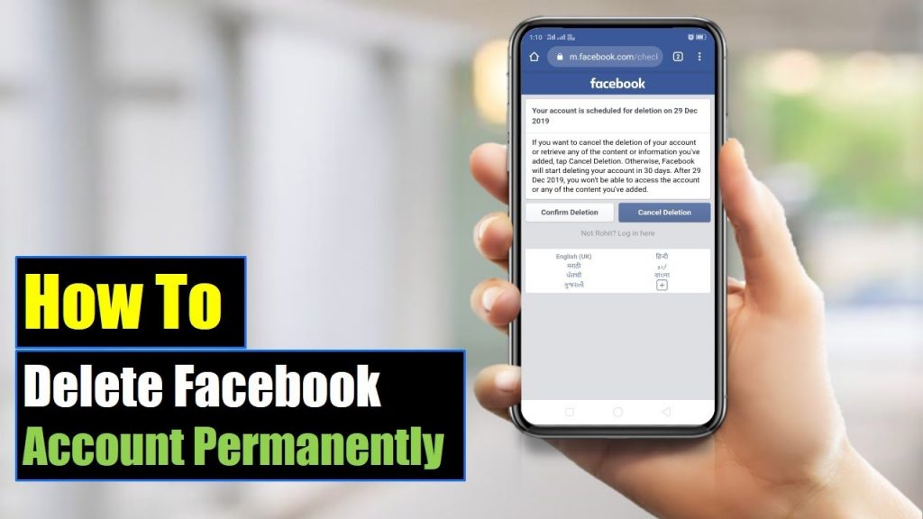How to Delete Facebook Account Permanently: Check out the complete Guide!